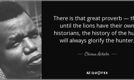 Chinua Achebe dan Kajian Pascakolonial